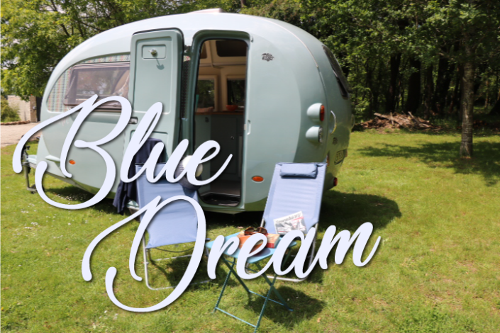 Caravane vintage Blue Dream